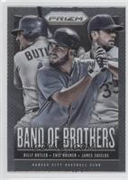 Billy Butler, Eric Hosmer, James Shields