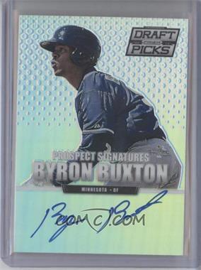 2013 Panini Prizm Perennial Draft Picks - Prospect Signatures - Prizms #49 - Byron Buxton