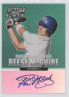 2013 Panini Prizm Perennial Draft Picks Prospect Signatures Green Prizms #15 - Reese McGuire