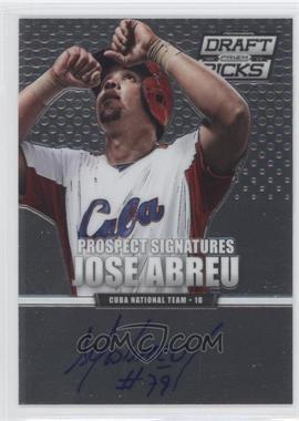 2013 Panini Prizm Perennial Draft Picks Prospect Signatures #48 - Jose Abreu