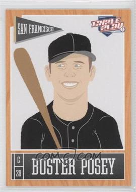 2013 Panini Triple Play - [Base] #69 - Buster Posey