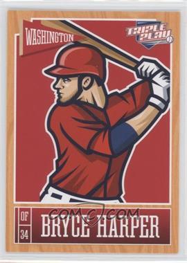2013 Panini Triple Play - [Base] #89 - Bryce Harper