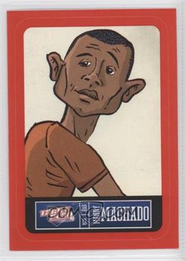 2013 Panini Triple Play - Player Stickers - Red Border #2 - Manny Machado