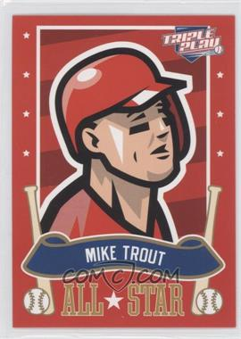 2013 Panini Triple Play All-Stars #23 - Mike Trout
