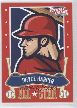 2013 Panini Triple Play All-Stars #5 - Bryce Harper