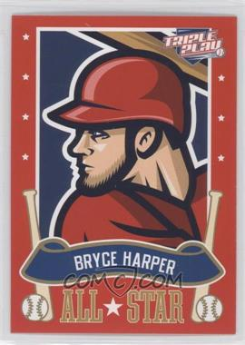 2013 Panini Triple Play All-Stars #5 - Bryce Harper