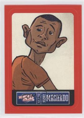 2013 Panini Triple Play Player Stickers Red Border #2 - Manny Machado