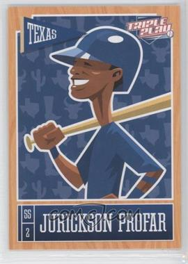 2013 Panini Triple Play #81 - Jurickson Profar