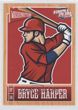 2013 Panini Triple Play #89 - Bryce Harper