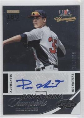 2013 Panini USA Baseball Champions - Certified National Team Signatures #36 - Dom Nunez /299