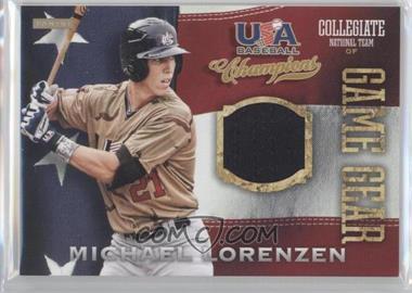 2013 Panini USA Baseball Champions - Game Gear Jerseys #36 - Michael Lorenzen