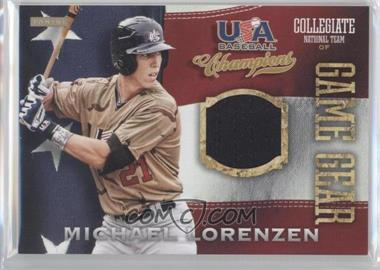 2013 Panini USA Baseball Champions Game Gear Jerseys #36 - Michael Lorenzen