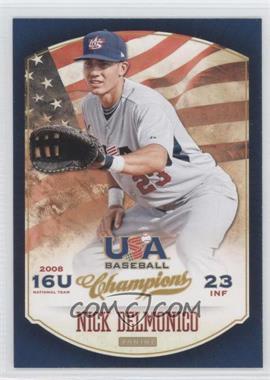 2013 Panini USA Baseball Champions #44 - Nick Delmonico