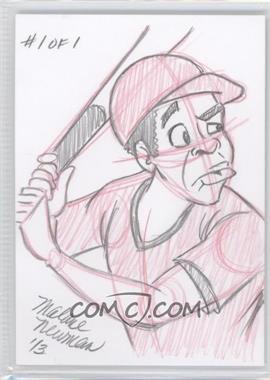 2013 Prospect Rush - Artist's Cartoon Sketch Cards #N/A - Matthew Neil /1