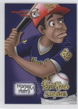 2013 Prospect Rush - [Base] - Purple #HOHA.2 - Homer Harry (Close-Up) /12