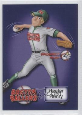 2013 Prospect Rush [???] #N/A - Heater Henry /12