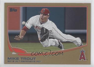 2013 Topps - [Base] - Gold #536 - Mike Trout /2013