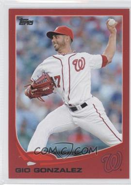 2013 Topps - [Base] - Target Red #626 - Gio Gonzalez