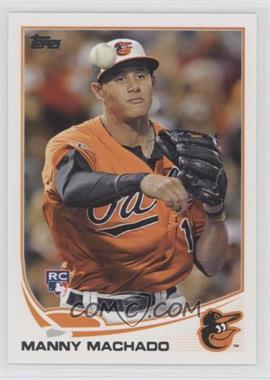 2013 Topps - [Base] #270.1 - Manny Machado (Base)