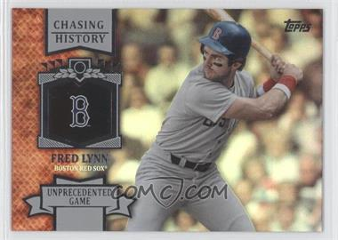 2013 Topps - Chasing History - Holo-Foil #CH-59 - Fred Lynn