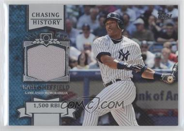 2013 Topps - Chasing History Relic #CHR-GS - Gary Sheffield