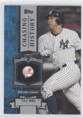 2013 Topps - Chasing History #CH-42 - Alex Rodriguez