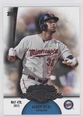 2013 Topps - Making Their Mark #MM-35 - Aaron Hicks