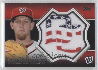 2013 Topps - Manufactured Commemorative Patch #CP-24 - Stephen Strasburg
