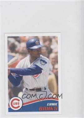 2013 Topps Album Stickers #188 - Ernie Banks
