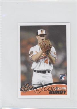 2013 Topps Album Stickers #8 - Dylan Bundy