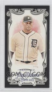2013 Topps Allen & Ginter's - [Base] - Mini Black Border #138 - Anibal Sanchez