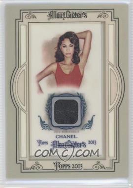 2013 Topps Allen & Ginter's - Framed Mini Non-Baseball Relics #NBR-CI - Chanel Iman