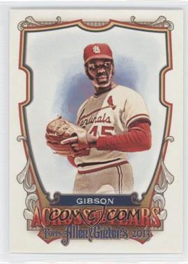 2013 Topps Allen & Ginter's Across the Years #ATY-BG - Bob Gibson