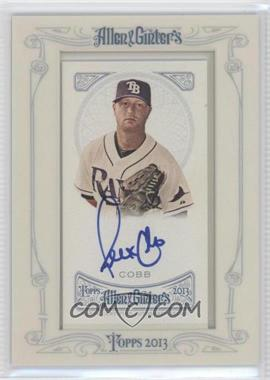 2013 Topps Allen & Ginter's Framed Mini Autographs [Autographed] #AGA-AC - Alex Colome