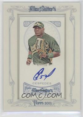 2013 Topps Allen & Ginter's Framed Mini Autographs [Autographed] #AGA-YC - Yoenis Cespedes