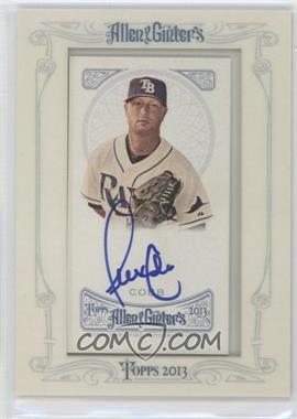 2013 Topps Allen & Ginter's Framed Mini Autographs #AGA-AC - Alex Cobb