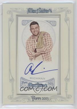 2013 Topps Allen & Ginter's Framed Mini Autographs #AGA-AR - Adam Richman