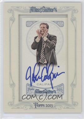2013 Topps Allen & Ginter's Framed Mini Autographs #AGA-JC - John Calipari