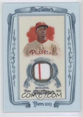 2013 Topps Allen & Ginter's Framed Mini Relics #AGR-JR - Jimmy Rollins