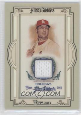 2013 Topps Allen & Ginter's Framed Mini Relics #AGR-MH - Matt Holliday