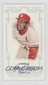 2013 Topps Allen & Ginter's Mini Allen & Ginter Back #108 - Bob Gibson