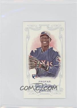 2013 Topps Allen & Ginter's Mini Allen & Ginter Back #156 - Jurickson Profar