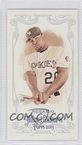 2013 Topps Allen & Ginter's Mini Allen & Ginter Back #312 - Wilin Rosario