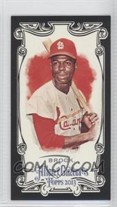 2013 Topps Allen & Ginter's Mini Black Border #254 - Lou Brock