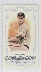 2013 Topps Allen & Ginter's Minis Rip Card High Numbers #363 - Matt Cain