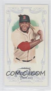 2013 Topps Allen & Ginter's Minis Rip Card High Numbers #368 - David Ortiz