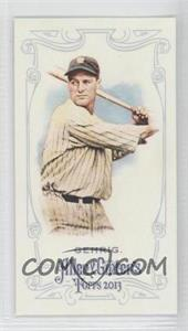 2013 Topps Allen & Ginter's Minis #75 - Lou Gehrig