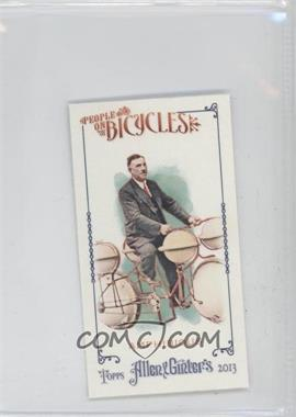 2013 Topps Allen & Ginter's People on Bicycles Minis #POB-A - [Missing]