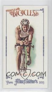 2013 Topps Allen & Ginter's People on Bicycles Minis #POB-TRI - Triathlete