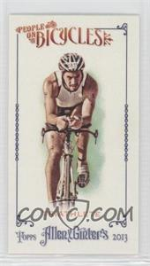 2013 Topps Allen & Ginter's People on Bicycles Minis #POB-TRI - Triathlete